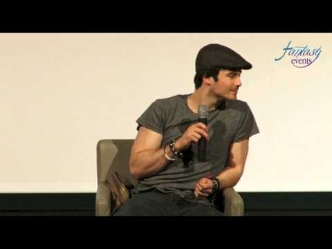 LOVE AND BLOOD ITACON ITALY - Ian Somerhalder Full Panel HD