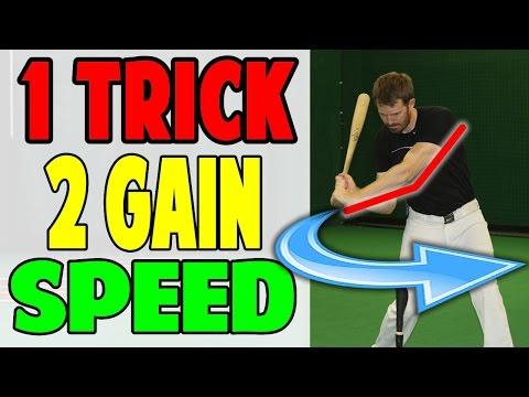 Instantly Gain Bat Speed | Leveraged Lead Arm | Baseball Hitting Drill (Pro Speed Baseball)