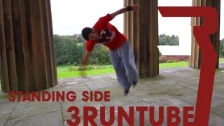 3RUN: How to Sideflip Standing