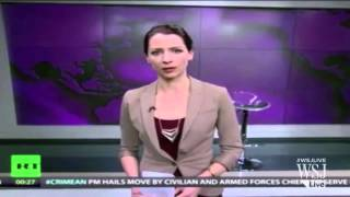 Russian State TV Host Disses Ukraine Incursion | Abby Martin RT America