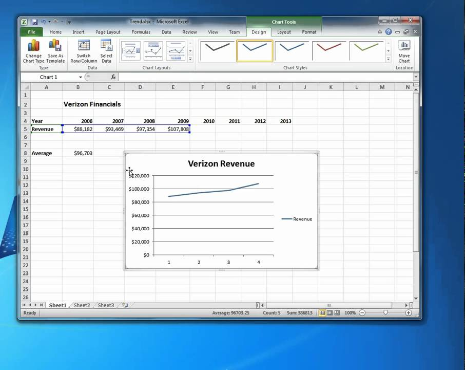 how to add linear regression in google sheets