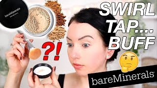GIVING IT ANOTHER SHOT...Bare Minerals Original Powder Foundation {Foundation Friday! Review & Demo}