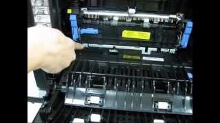 Installing The Dell 2335dn Fuser Maintenance Kit, Adf