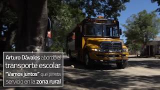 TRANSPORTE ESCOLAR ZONA RURAL