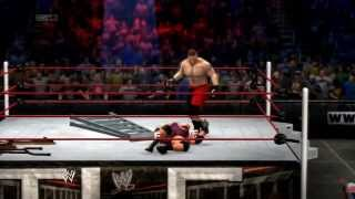 (NEW) WWE 2K14 Ryback Vs Brock Lesnar In TLC Match