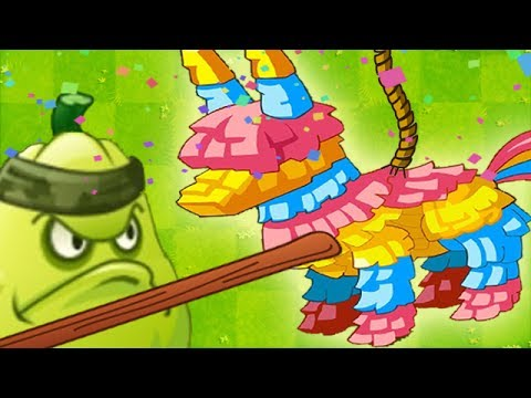 Plants vs. Zombies 2 - Pinata Party / Day 3, NEW COSTUMES! SEÑOR PIÑATA