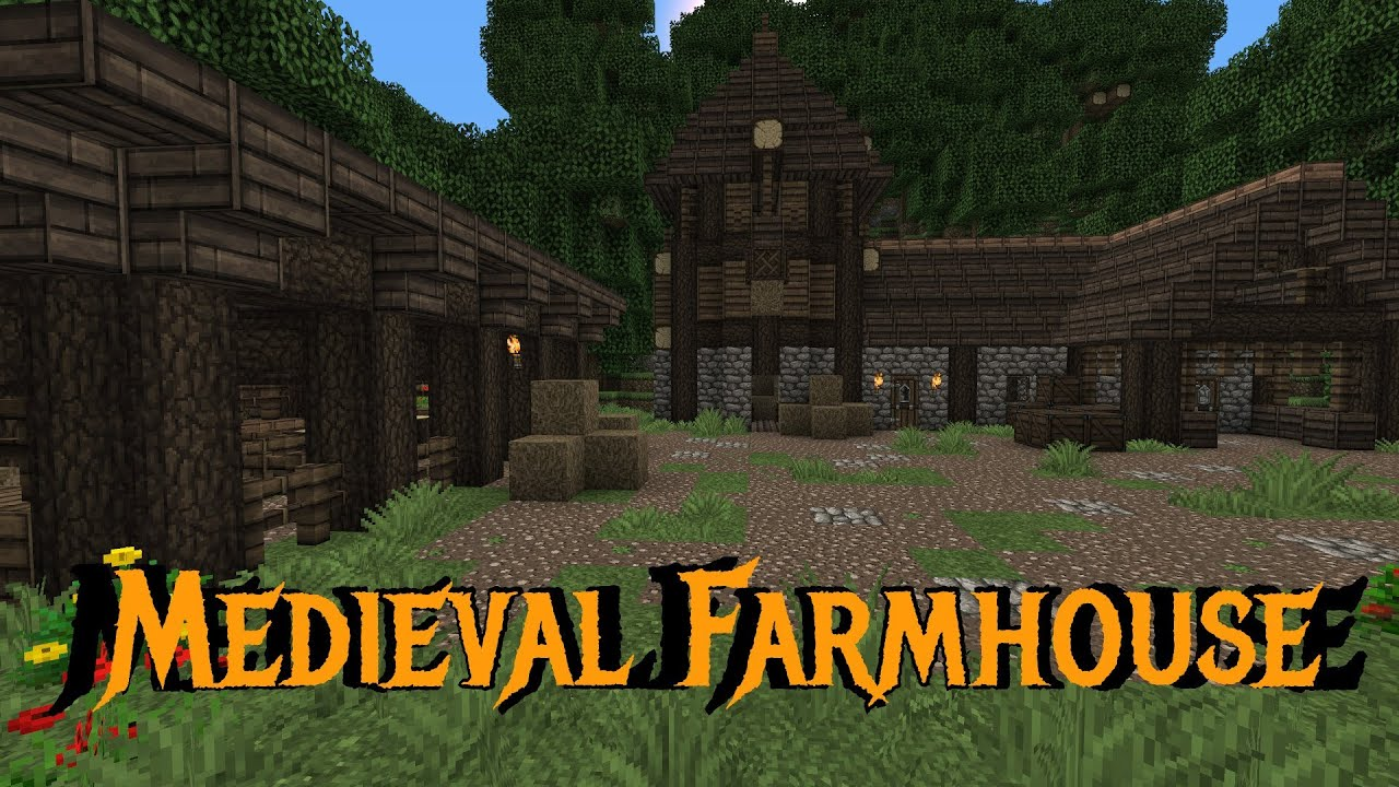 Minecraft Gundahar Tutorials Me val Farmhouse