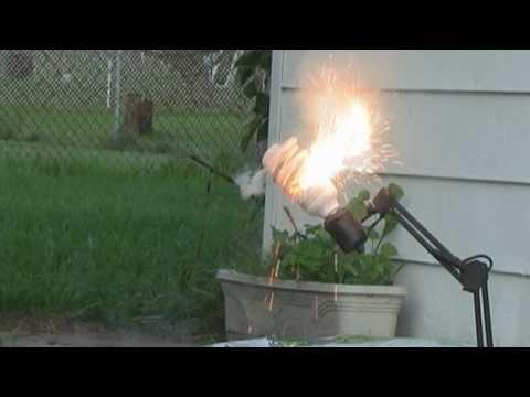 CFL Grow Light Explosion!