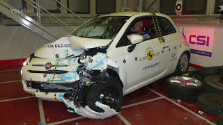 Fiat 500 (2017) Crash Tests [YOUCAR]. YouCar Car Reviews.