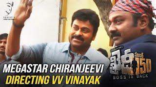 Megastar-Chiranjeevi-directing-VV-Vinayak----Khaidi-No-150----Kajal-Aggarwal----DSP