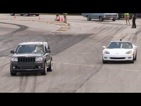 Built Jeep SRT8 vs Corvette