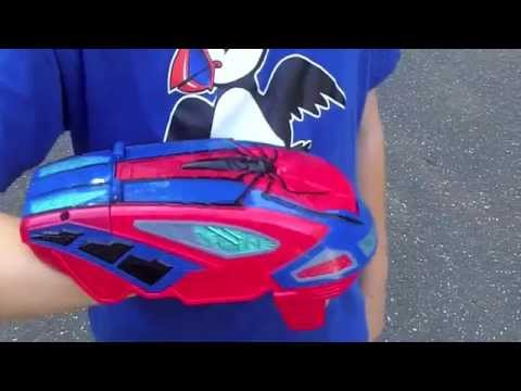 The Amazing Spider-Man 2 Motorized Spider Force Web Blaster Review