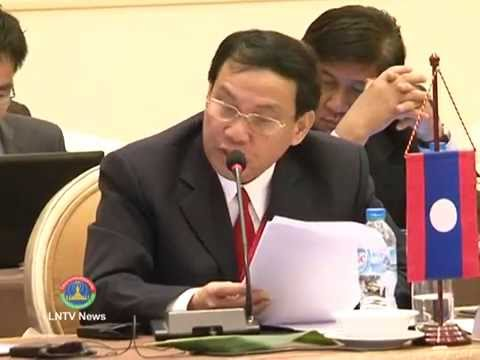 Lao NEWS on LNTV: ASEAN Ministers responsible for Culture & Arts met for AMCA6 .21/4/2014