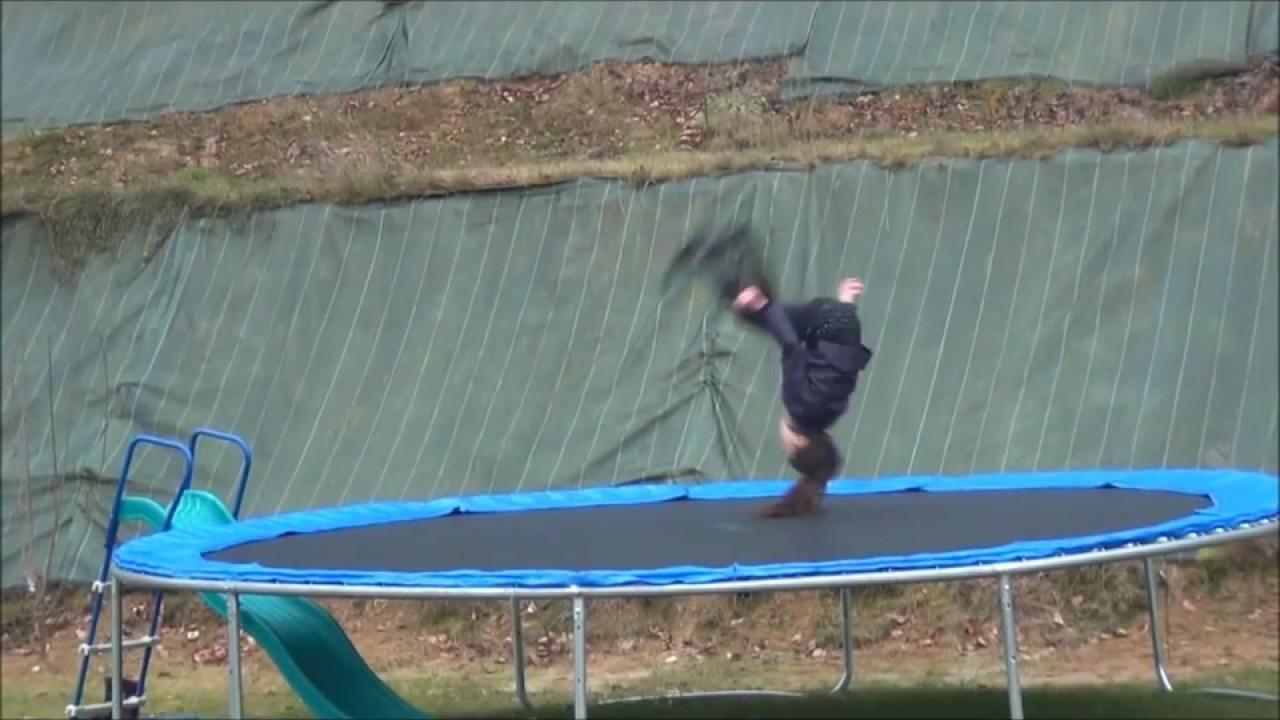 gym trampoline c lia 8 ans youtube. Black Bedroom Furniture Sets. Home Design Ideas