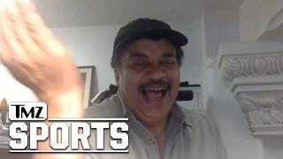 Neil deGrasse Tyson Rips Kyrie Irving's Flat Earth Nonsense | TMZ Sports