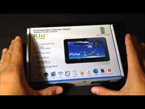 Friday Deal (Unboxing) - 7' Klu by Curtis LT7035-F ANDROID TABLET