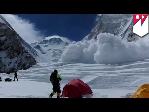 Mt Everest avalanche: 12 dead, 3 missing