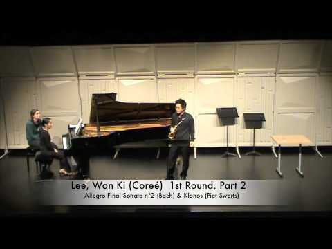 Lee, Won Ki (Coreé) 1st Round. Part 2