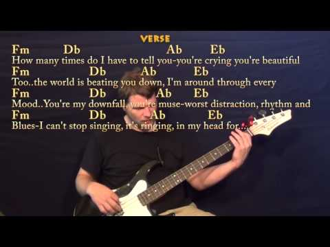 All Of Me (John Legend) Bass Guitar Cover Lesson with Chords / Lyrics