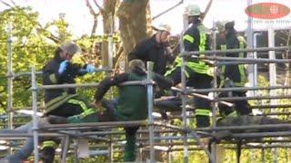 Hagen 21.04.2012 – Großübung der Hagener Feuerwehr am 21.04.2012