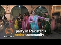 Pakistans transgender community holds rare party under police guard