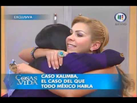 Rocio Sanchez Azuara entrevista a Thaily en Cosas de la vida Caso Kalimba