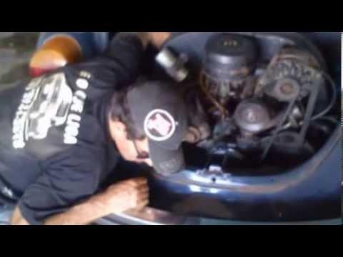 Tirando Motor de Fusca em 5 minutos
