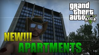 GTA 5 Online New! GTA 5 DLC Information! Apartments