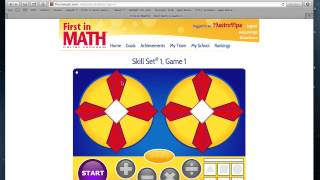 First In Math Skill Sets