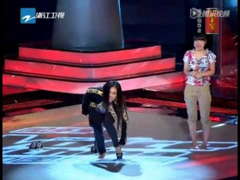 Rolling in the Deep by Huang He   Audition 1 The Voice of China