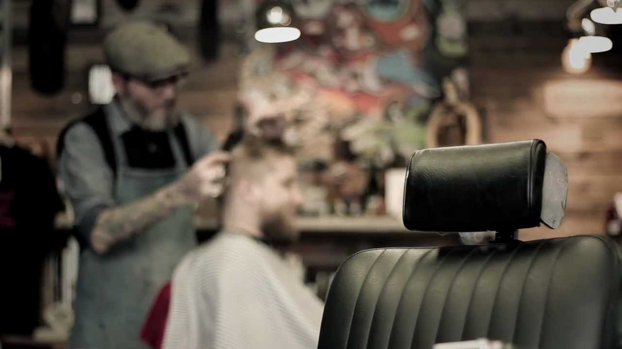 Barber Youtube : Old Retro Barbershop - Pappas Barbershop - YouTube