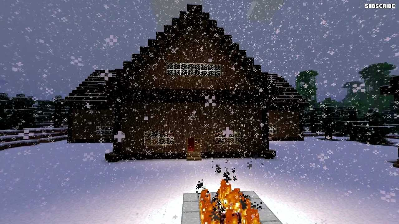 Minecraft Building Amp Design Ideas Snow Biome Houses
