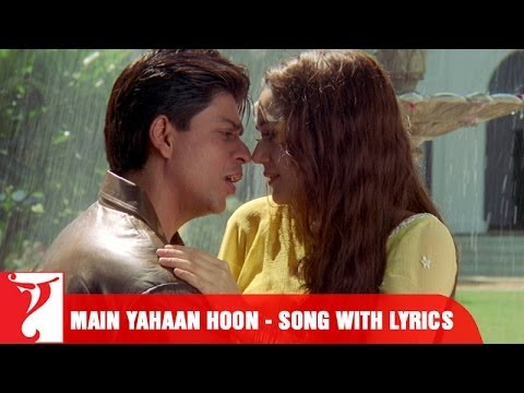 "Lyrical: ""Main Yahaan Hoon"" - Full Song with Lyrics - Veer ..."