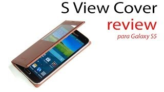 S View Cover Para Samsung Galaxy S5 (en Español)