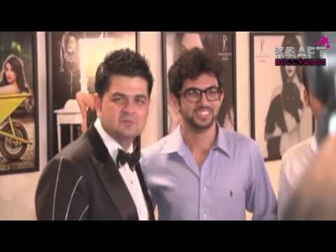 Aditya Thackeray at Daboo Ratnani's 2014 Calender Launch