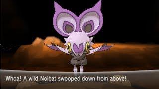 Pokemon X And Y Part 80 Catching Noibat
