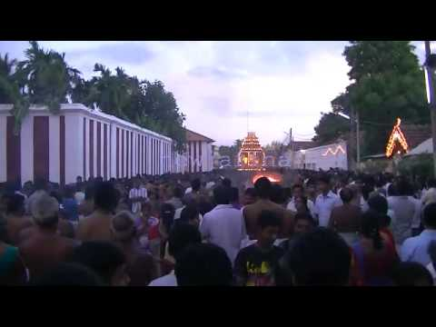 Nallur kovil mancham 21-08-2013 - 10th day evening