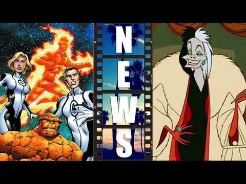 Fantastic Four 2015 hires Simon Kinberg, Disney preps Cruella De Vil Movie - Beyond The Trailer