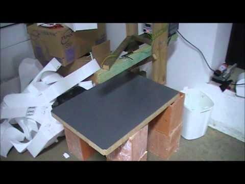 Domowej roboty maszyna do cięcia styropianu