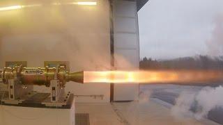 BLOODHOUND's new 1,000mph Hybrid Rocket - Tested