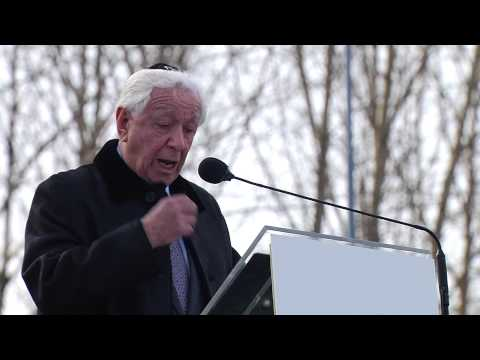 Frank Lowy Keynote Address 2013 March of the Living Ceremony