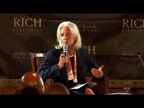 Mindspeak: Christine Lagarde, Managing Director, IMF