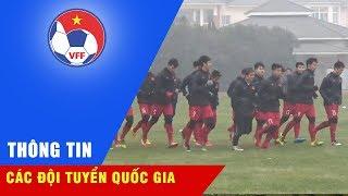 Buổi tập mới nhất của U23 Việt Nam trước trận Tứ kết gặp U23 Iraq