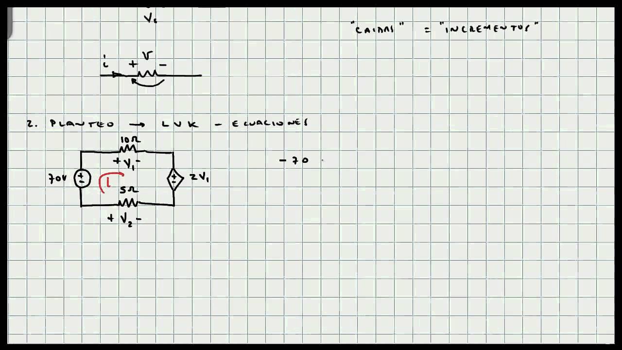 ejercicio ley de voltjes kirchoff - circuitos el u00e9ctricos - mi profesor de fisica