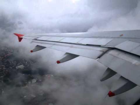 Decolagem Aeroporto de Chapecó,SC,SBCH/XAP com o A318 da Avianca do Brasil.