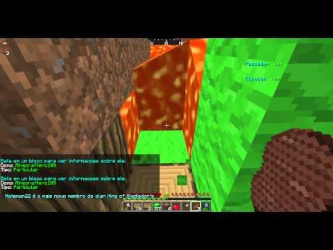 Minecraftero189 nb grifou e colocou lava na minha casa '-' ._. ban lindo pra ele