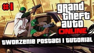 #1 Zagrajmy W GTA V Online PL Tworzenie Postaci I