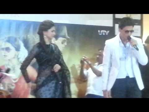 Shahrukh Khan & Deepika at Arabian Centre