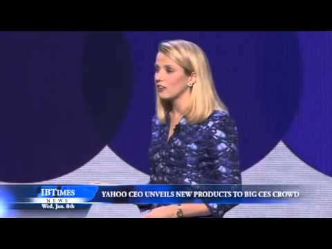 Yahoo CEO Unveils New Products to Big CES Crowd
