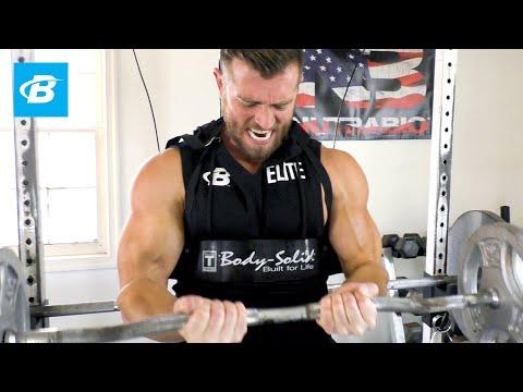 High-Volume Garage Gym Arm Workout | Zane Hadzick
